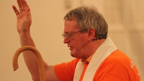 Alan Scarfe, bishop of the Episcopal Diocese of Iowa