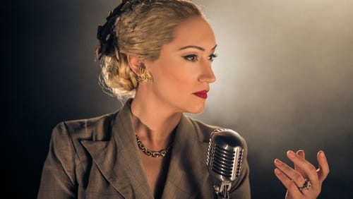 """Eden Espinosa delivers an outstanding performance as 'Evita,"""" currently playing at TPAC."""