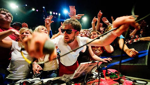 DJ Girl Talk, a.k.a. Gregg Michael Gillis, will headline the inaugural Beerkamp at Lake Eden next month.