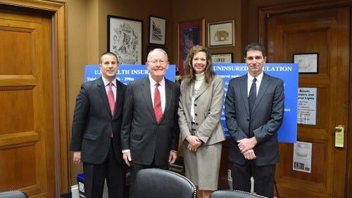 Sen. Lamar Alexander, R-Tenn., hosted insurance commissioners from three states, including Tennessee, for a discussion about the Affordable Care Act.