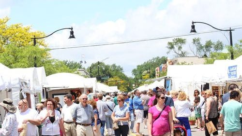The eighth annual Art on the Grand will be June 3-4 in downtown Farmington.
