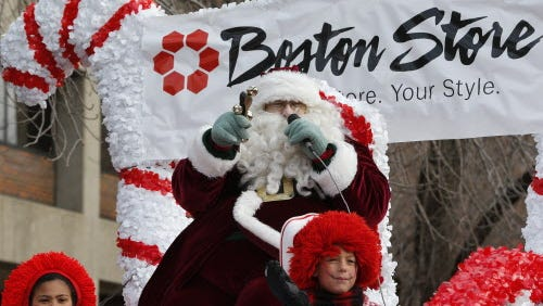 Santa will be the finale of the Milwaukee Holiday Parade on Saturday.