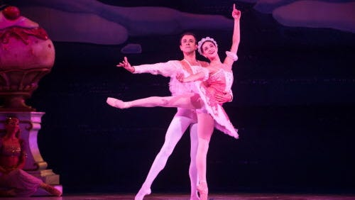 """The Milwaukee Ballet's production of """"The Nutcracker"""" starts this weekend."""