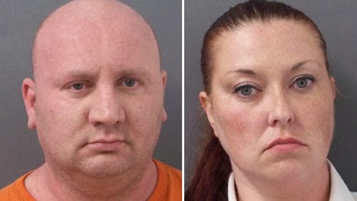 David (left) and Holly Starkey, of Rushville.