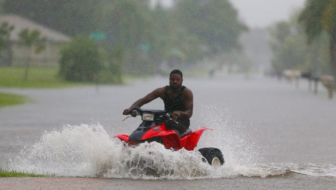 Severe flooding plagued Cape Coral and most of Southwest Florida on Sunday. Heavy rains forced closures of several major roads.