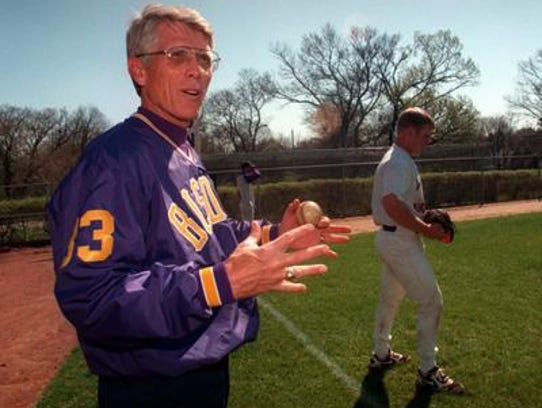 Mel Brown coached baseball at Lipscomb University from