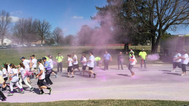 The Jacobus Lions Club will host their Color Run 5K at Jacobus Park on April 9, 2016 this year.