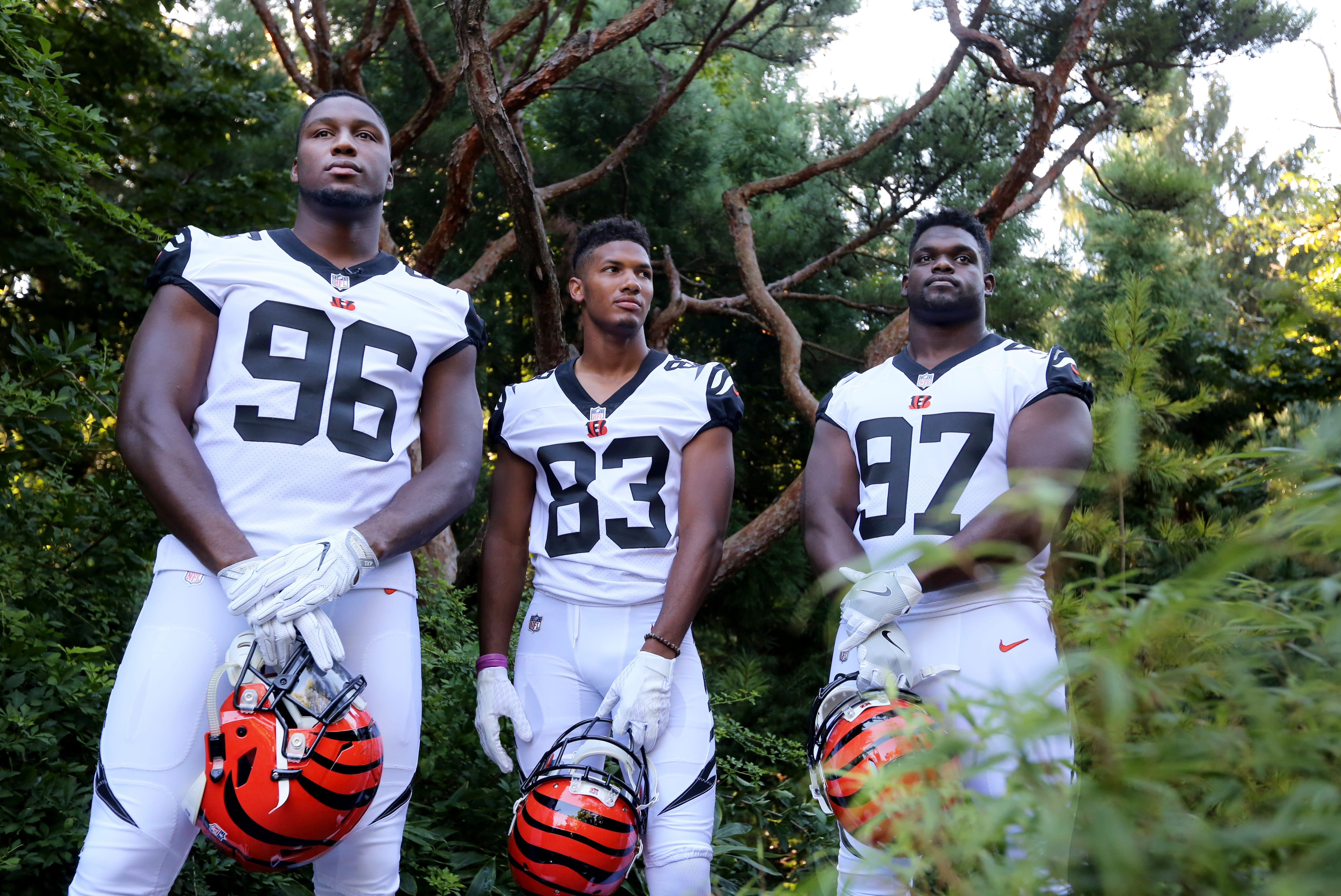 Why don't the Bengals wear white helmets?