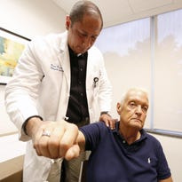 Dr. Jason Hochfelder, an orthopedic surgeon at Phelps Memorial Hospital.