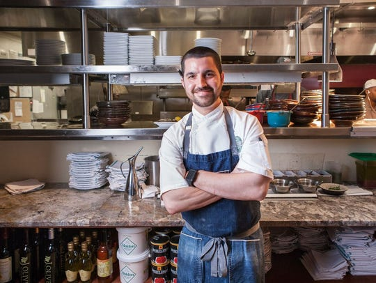 Alex Eaton is the executive chef and owner of The Manship Wood Fired Kitchen in Jackson.