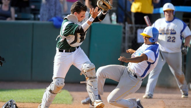 Parkside catcher Jack Goertzen will be relied on to be one of the team leaders this season.