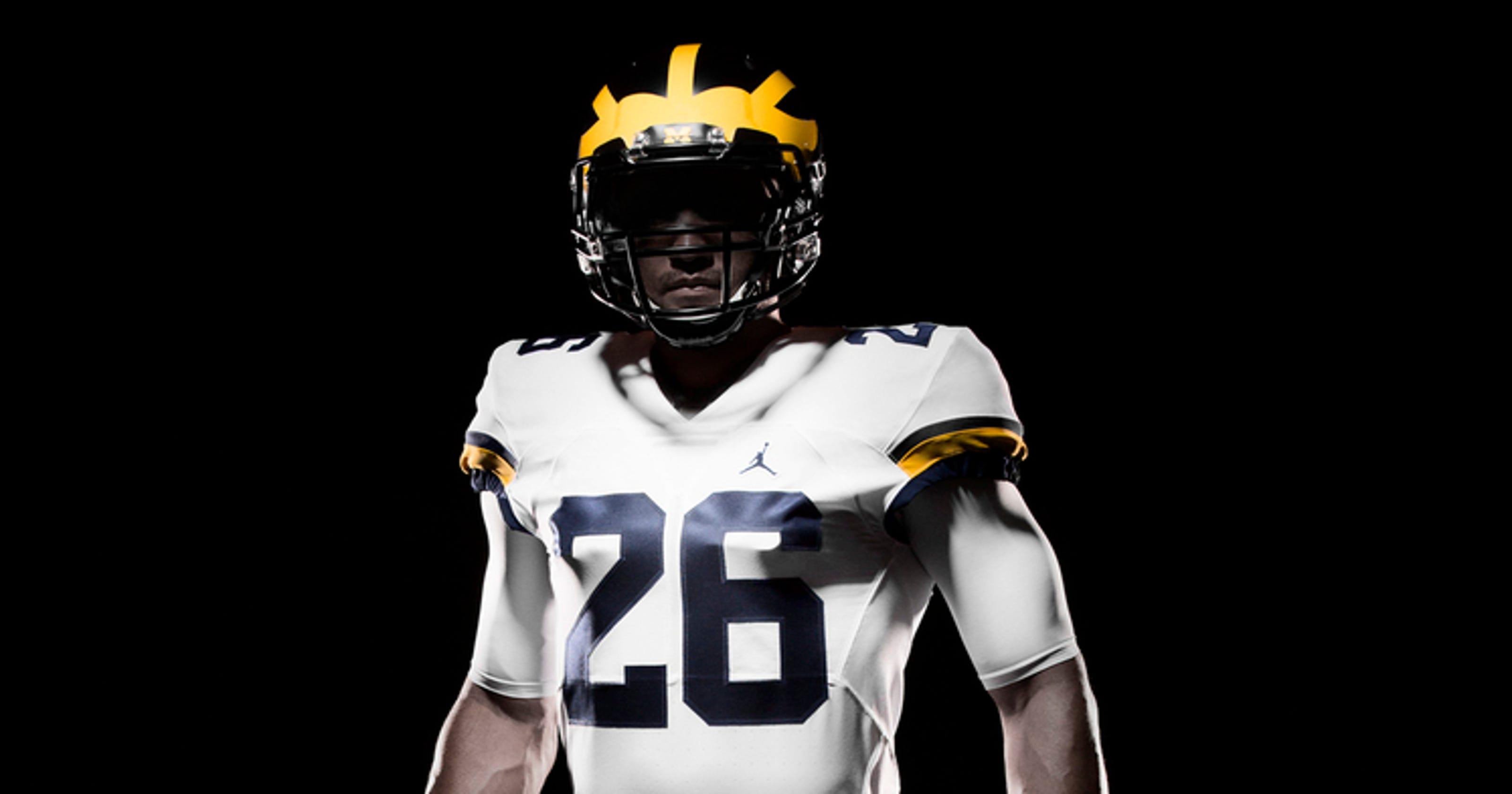 25f2a322cda3 Check it out  New Michigan football uniform revealed
