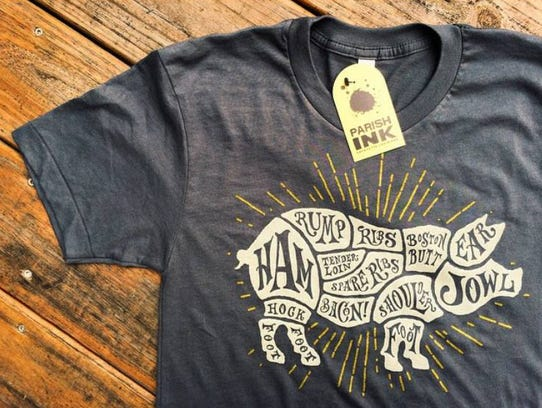 A Parish Ink T-shirt could be the perfect gift for