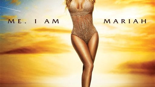 "This CD cover image released by Def Jam Records shows ""Me. I Am Mariah? The Elusive Chanteuse"" by Mariah Carey."
