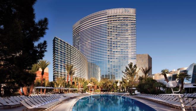 The Aria Resort & Casino at CityCenter in Las Vegas.