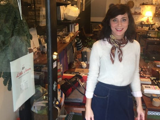 Jojo Ans, a Kingston resident who grew up in Pawling, operates Shop Little House in Woodstock.