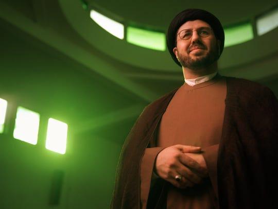 Imam Hassan Qazwini in 2001.