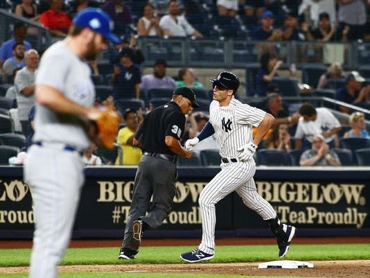 MLB: Game Two-Kansas City Royals at New York Yankees