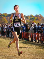 Central Magnet's Abby Graves finished 11th at the A-AA