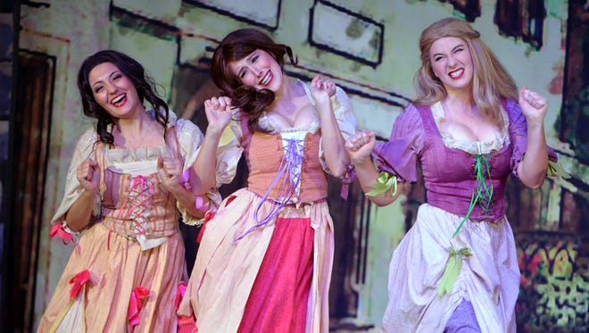 """Candlelight Theatre's production of """"Beauty and the Beast"""" plays through Dec. 23, but tickets are flying out of the box office."""