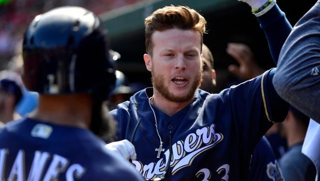 Brewers outfielder Brett Phillips has spent plenty of time on planes from Colorado Springs to Milwaukee.
