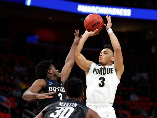 Carsen Edwards is a national player of the year candidate after an outstanding sophomore basketball season at Purdue.