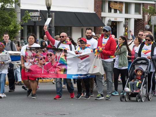 6/03/18 Jersey Pride Parade proceeds along Cookman Ave. Asbury Park. Photo James J. Connolly/Correspondent