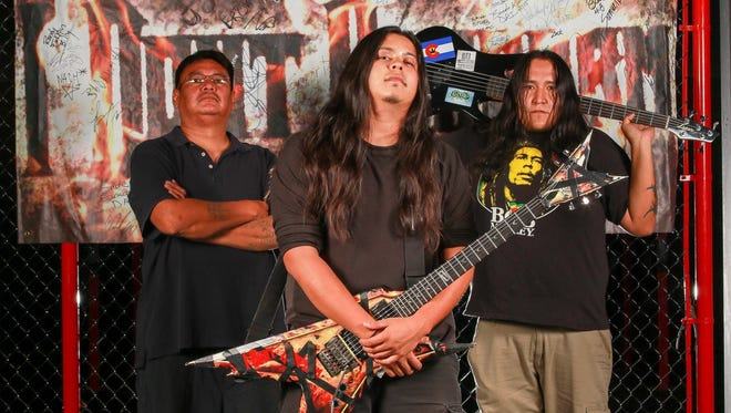 The Window Rock, Ariz.,-based trio I Dont Konform performs Saturday at the Top Deck in Farmington as part of the annual Four Corners Metal Festival.