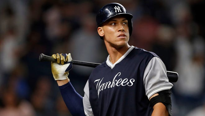 Aaron Judge has struck out  65 time since the All-Star break.
