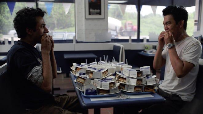 """Kal Penn (left) and John Cho star in """"Harold & Kumar Go to White Castle."""""""