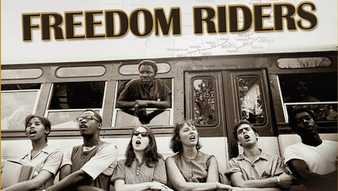 """Mad River Theater Works brings """"Freedom Riders,"""" a one-hour family production, to the Purdue Stewart Center Loeb Playhouse at 3 p.m., Sunday. The Purdue Black Cultural Center hosts a display and activities about the historic Freedom Riders beginning at 2 p.m. in the Stewart Center lobby."""