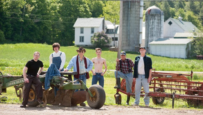 "Cast of ""Farm Boys,"" which plays at 7 p.m. Sunday and 7:30 p.m. July 26 at Chandler Music Hall in Randolph."