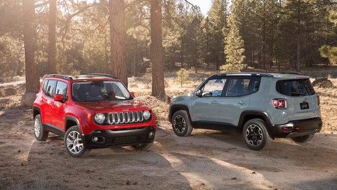 2015 Jeep Renegade Latitude and Trailhawk Models.