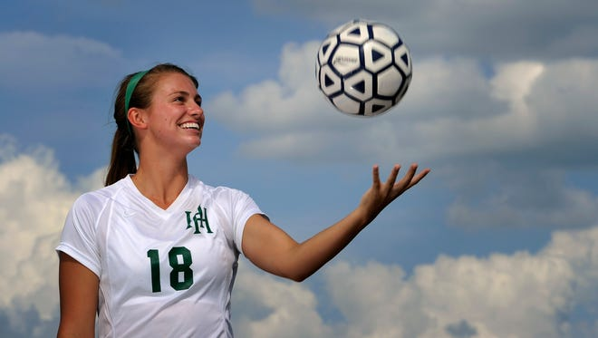 Sophie Pilkinton of Harpeth Hall is the Tennessean's girls high school athlete of the year.