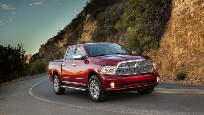 The 2014 Ram 1500 pickup.