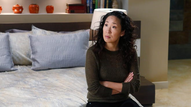 Cristina (Sandra Oh) gets the 'Sliding Doors' treatment as she prepares to make a decision about her future.