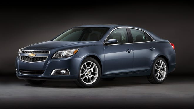 The 2012 Chevrolet Malibu was among a handful of used cars that actually, for a short time anyway, gained in value.