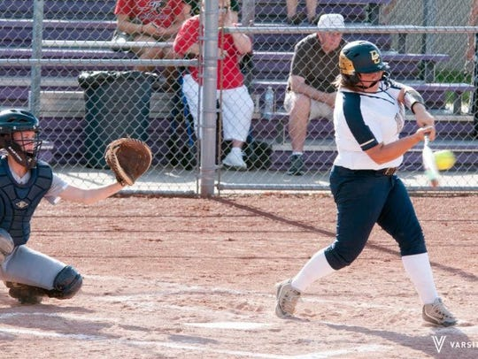 Decatur Central senior Gabby Groves is playing to honor