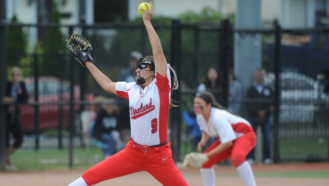 Nicole Ortega pitched Vineland to its first-ever sectional title this spring, earning a spot on our All-Daily Journal softball team.