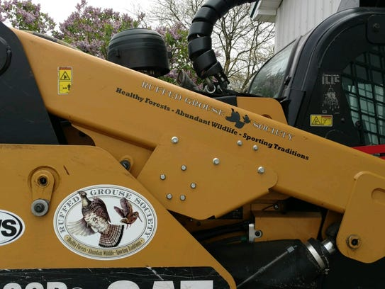 The Ruffed Grouse Society uses this 'Grouse Machine'