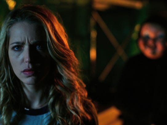 """In """"Happy Death Day,"""" a college student (Jessica Rothe)"""