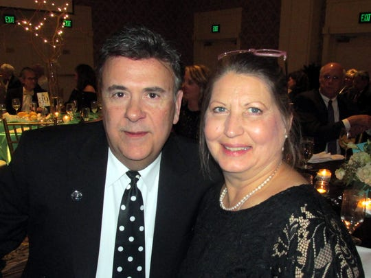 Wes Parker and Peggy Killett were at the Page Robbins Winter Gala.