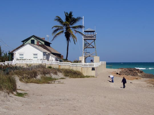 The 1875 House of Refuge, Martin County's oldest building,