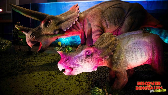 Discover the Dinosaurs UNLEASHED will come to the Knoxville Convention Center Jan. 21 and 22.
