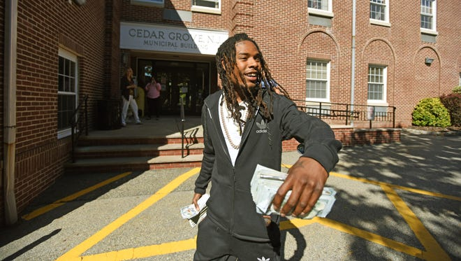 The rapper Fetty Wap, shown in 2016, was in a Paterson deli where a shooting took place early Sunday, police say.
