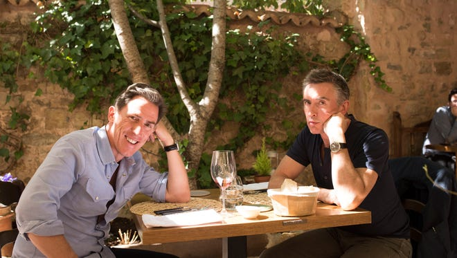 "Rob Brydon and Steve Coogan sit down for another meal, this time on ""The Trip to Spain."""