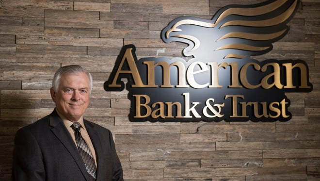Doug Tribble, Sioux Falls market president for American Bank & Trust, poses for a portrait in the bank's downtown Sioux Falls location on Nov. 14, 2017. Tribble will be named the president of the bank starting next year.