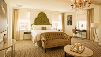 This King Studio guest room is spacious and comfortable.