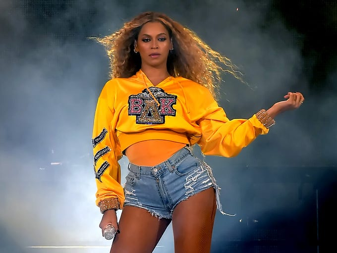 INDIO, CA - APRIL 14:  Beyonce Knowles performs onstage