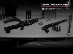 75% of guns involved in mass killings are handguns